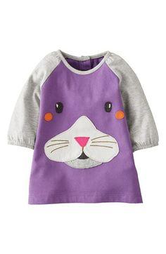 Mini Boden Appliqué Play Dress (Baby Girls) | Nordstrom