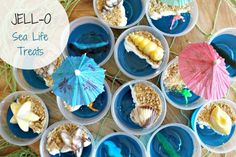 Great ideas for an Under the Sea birthday party or playdate