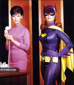 Barbara Gordon:  reference librarian by day, Batgirl by night.
