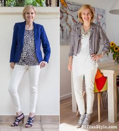 Complete guide on how to wear capris - Combining capris with jackets | 40plusstyle.com