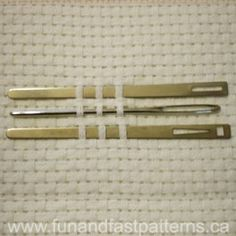 Variety pack of 3 needles
