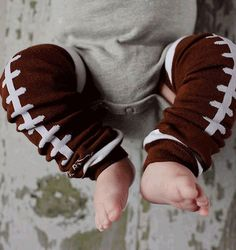 BabyLegs Football Leg Warmers
