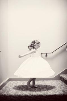 Twirling! Photo by Anna B. #minnesotaweddingphotographers