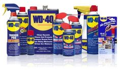 WD-40… Is there anything it can not do???? Here's a list of 50 things WD-40 can do.