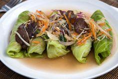 #lettuce #wrap recipe - Chicken Lettuce Wraps. Cut those calories!