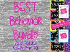 New cover!  I LOVE this chalk-sketched behavior clip chart! Fun, fun, fun!