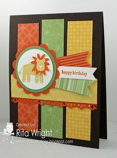by Rita Wright, Rita's Creations: Scrap Card Sunday