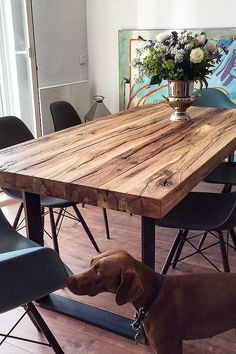Dining table solid w