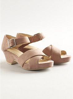 Great shoes from Eileen Fisher Mesh in Italian Leather