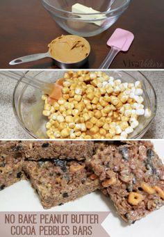 Easy to make, no-bake sweet treats!