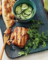 Tandoori Salmon (forget the naan)
