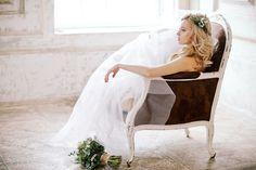 Elegant, rustic bridal session | Irina Klimova Photography | see more on: http://burnettsboards.com/2014/09/beauty-flower-exquisite-bridal-editorial/
