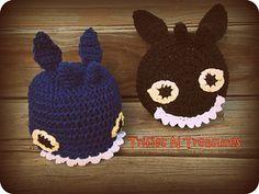 Night Fury Hat & Pillow ~ free pattern