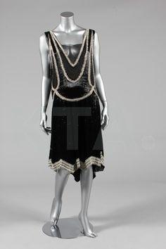 Evening dress, ca 1928