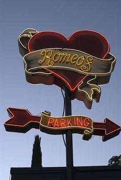 Romeos Neon Austin TX via flickr
