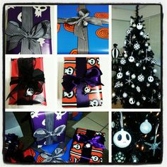 My Jack Skellington Christmas Tree and Nightmare Before Christmas Presents!