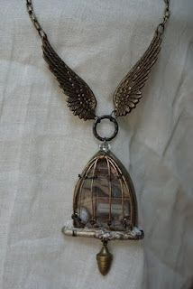 Wings & birdcage.