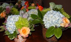 The French Tangerine: ~ tft tablescape: september