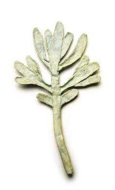David Neale ceramic brooch