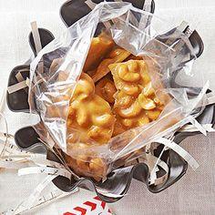 Cashew Brittle--I love cashews!  I think this would taste wonderful!