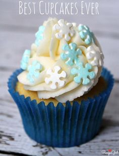 BEST CUPCAKES EVER > Here's an amazing doctored-up cake mix recipe...