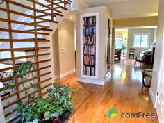 Check out this built-in library in this Toronto home  #ComFree