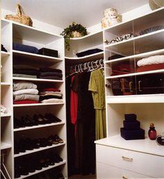 Corner hanging space!