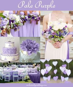 "Pale Purple Wedding ""Your Wedding Color - Don't Overlook Five Luscious Shades of Purple"". Read more: http://blog.exclusivelyweddings.com/2014/04/20/your-wedding-color-dont-overlook-five-luscious-shades-of-purple/"