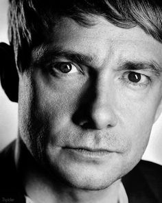 Martin Freeman-- The Oh so adorable, little hedgehog. Do you want a carrot?