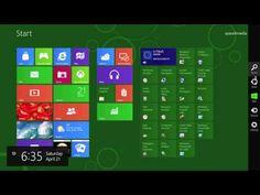 Windows 8 Metro UI in HD