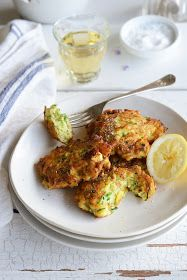 From The Kitchen: Zucchini and Ricotta Fritters with Parmesan, Lemon and Mint