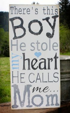 Baby Boy Sign Vintage Baby Nursery Wall Decor by AmberMooreDesigns, $45.00