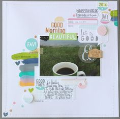Mixed Media Monday with our exclusive August kit!