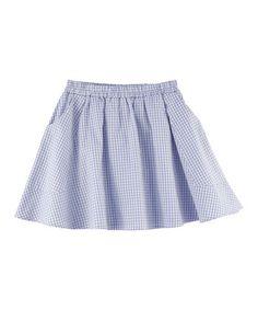 Serendipity Organics   Gingham Skirt