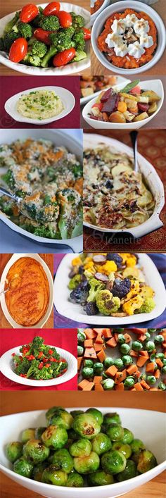 16 Clean Eating Holiday Side Dishes #Entertaining #GlutenFree #Healthy