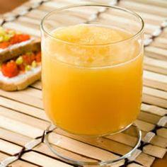 Bourbon Slush: Blend of Frozen Fruit Juices, Tea & Bourbon