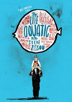 The Life Aquatic with Steve Zissou - Peter Strain Illustration