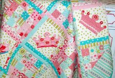 """Dreaming Princess"" quilt"