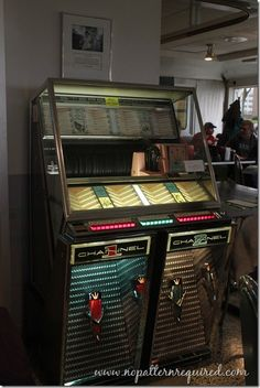 Vintage jukebox at Miss Katie's Diner in Milwaukee