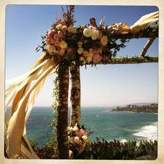 birch trellis, wedding flowers, frenchbuckets.com