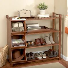 {Padgett Storage Cubby} love this shoe rack/storage unit!