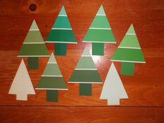 paint chip trees