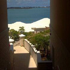 Bermuda. Tucker's Point Resort & Spa. Our room is right down those steps, to the left, poolside. We have a private cabana next to the pool, and a private patio outside the room.