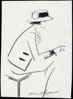 Chanel Illustrated: Portrait by Karl Lagerfeld. © Chanel
