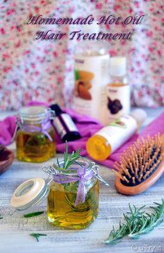 Homemade Hot Oil Hair Treatment DIY
