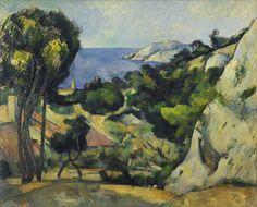 L'Estaque - Paul Cézanne