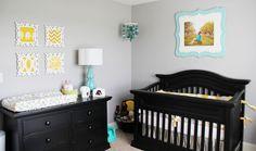 neutral nursery ideas gray