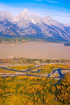✮ A colorful view of Tetons National Park - Wyoming