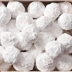 Almond Snowballs