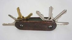 How to Make a Swiss Army Key Ring - All Natural & Good